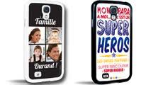 Coques téléphone Samsung S3 et S4 - A personnaliser avec vos photos