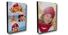 Tableau sur bois personnalisé avec photos - Nombre de photos illimité