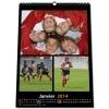 Nombre de photos et commentaires illimités, mise en page totalement personnalisable - Calendrier Maxi Photo