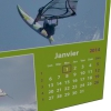 "Calendrier photo mural ""PANO"" 13 pages VERT (A5, A4 ou A3)"