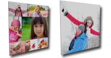 Tableau sur support plastique personnalisé avec vos photos