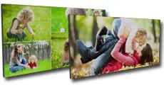 Tableau photo personnalisé imprimé sur un support léger de type mousse