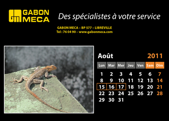 Calendrier association 1 page noir.