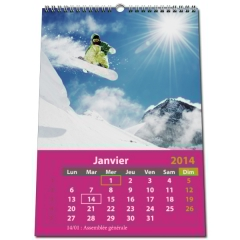 Calendrier photo Classic