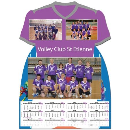 Calendrier photo Maillot de Volley