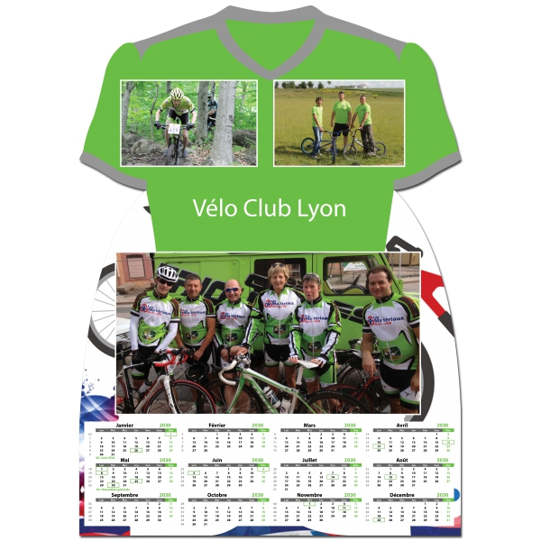 Calendrier photo Maillot de Vélo