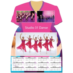 Calendrier photo Maillot de Danse