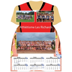 Calendrier photo Maillot de Athlétisme