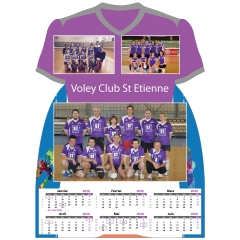 Calendrier photo Maillot de Volley