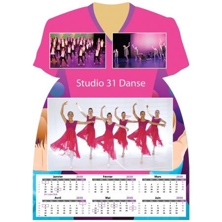 Calendrier photo Maillot de Danse