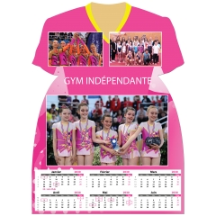 Calendrier photo Maillot de Gym