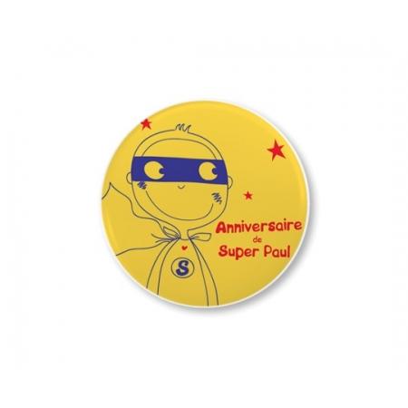 Badge photo épingle