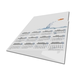 Calendrier photo chemise