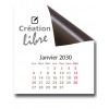 Calendriers magnétiques 12 planches