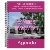 Agenda publicitaire personnalisé ROSE (21 x 27 cm)