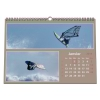 """Calendrier photo mural """"PANO"""" 13 pages TAUPE (A5, A4 ou A3)"""
