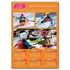 Calendrier photo orange XL RECTO/VERSO (A3, A2, A1 ou A0)