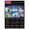 Calendrier photo personnalisé  pour association ou entreprise une page NOIR A5 ou A4