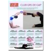 Calendrier photo 1 page