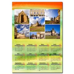 Calendrier photo une page
