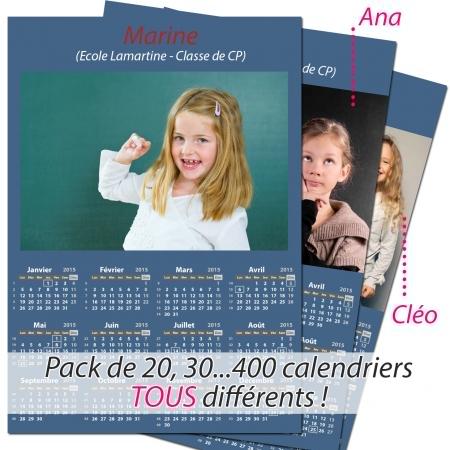 Pack multi calendriers