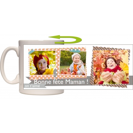 Mug photo panoramique