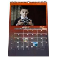 Calendrier PHOTO DATE