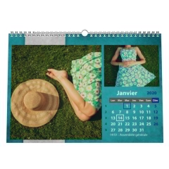 "Calendrier photo ""PANO"""