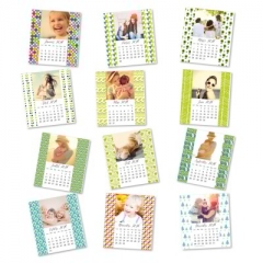 Calendriers magnetiques 12 planches