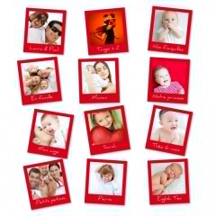 Magnets photo personnalisés