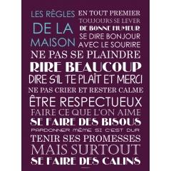 Poster photo pêle-mêle