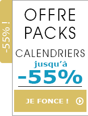 Offre pack calendriers 2021