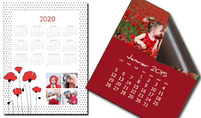Calendrier Perpetuel Personnalise 365 Jours.Calendrier Photo Personnalise Votrecalendrier Com