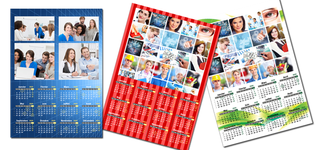 Calendrier photo personnalis pas cher for Calendrier mural pas cher