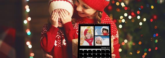 Créer mon calendrier photo pour Noël