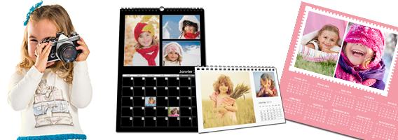 Créer mon propre calendrier photo