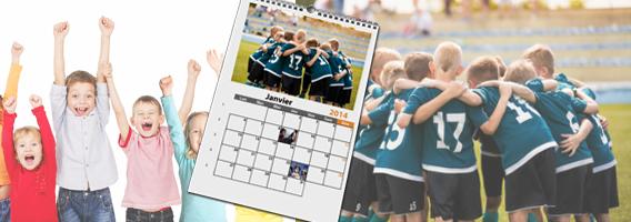 Revente de calendriers photos pour mon association